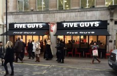 Here's where the first Five Guys is opening in Dublin
