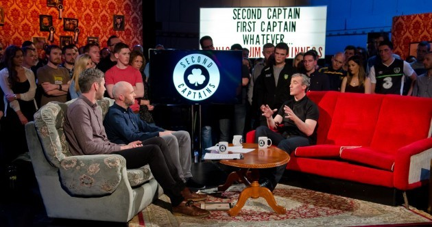 Jim McGuinness was challenged over potential hypocrisy in his book on Second Captains
