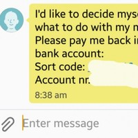 The worst lad ever asked his date for his €5 coffee money back when she rejected him