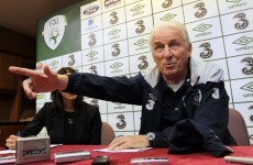 Trapattoni bullish ahead of qualifiers despite player concerns