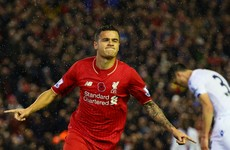 Coutinho nets twice in Liverpool friendly win