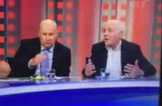 Eamon Dunphy and Liam Brady made a bet after last night's Bosnia-Ireland game