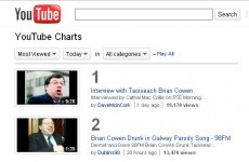 Cowengate: Top of the YouTube charts