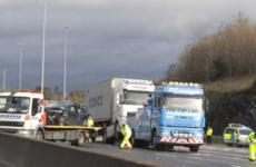 Woman dies of injuries sustained in M50 crash