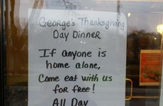 A restaurant owner is winning praise for this unbelievably kind gesture to 'lonely' customers