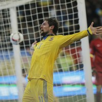 Ukraine have one foot in Euro 2016 after comfortable win over Slovenia