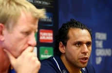 Captain Isa Nacewa withdrawn from Leinster side to face Wasps, Madigan starts