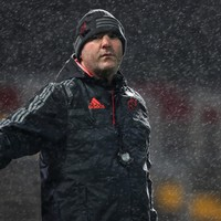 'If we have these conditions next week, I wouldn't change a thing' - Anthony Foley