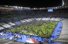German and French players slept in the Stade de France after terrorist attacks on Friday night