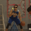 Steph Curry's dribbling drill, with blinding glasses and a tennis ball, is absolutely insane
