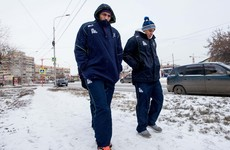 Connacht are still not back on Irish soil after being stranded in Siberia