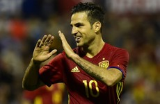 Fabregas ranks England as 'one of the favourites' for Euro 2016