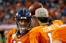 Peyton Manning picked a terrible time to have the worst game of his career