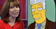 Who said it - Kay Burley or Kent Brockman?