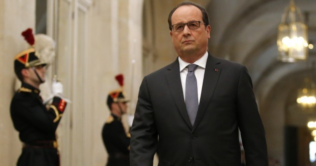 """France is at war"" - Francois Hollande"