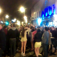 There was an almighty session on Camden Street after Ireland's win last night