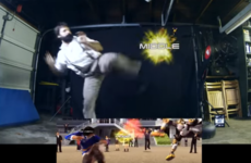 Take a break and watch this amazing stuntman recreate moves from Tekken