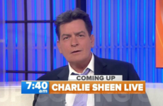 Charlie Sheen reveals he is HIV positive