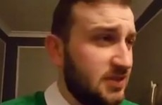 This Dublin impressionist has gone super viral again with a tribute to the boys in green