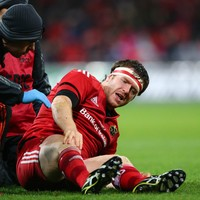 Bleyendaal ruled out as Munster wait on Sherry and Casey scan results