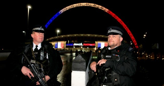The pictures from Wembley Stadium tonight are both heart-warming & scary