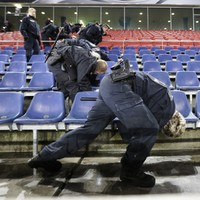 No explosives found after German stadium evacuated before international friendly