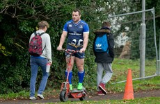 Leinster's fullback problems persist as Nacewa and Kearney sit out training