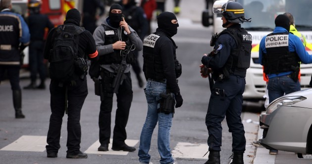 Paris shootout sees two killed and eight arrested but fate of 'mastermind' unknown