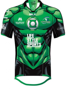 Connacht's new super hero themed jersey is class