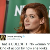 Debra Messing was sent an unsolicited dick pic and absolutely called it out on Twitter
