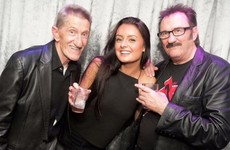 This photo of the Chuckle Brothers looks obscene and it's delighting the internet