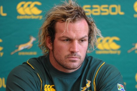 Jannie Du Plessis: and who's going to argue with him?
