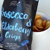 Tesco's prosecco-flavoured crisps. Must-try snack or a step too far for humanity?