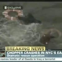 One dead, four injured after helicopter crashes into New York's East River