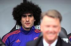 Marouane Fellaini told to leave Man United by Belgium coach