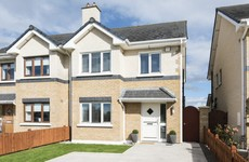There are 14 luxury three-bedroom homes on the way for Monasterevin