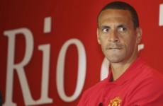 Fire starter? Chicago want to take Rio Ferdinand to the MLS