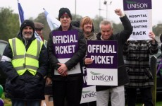 Healthcare workers begin 24-hour strike in Northern Ireland