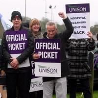 Healthcare workers begin 24-hour strike in Northern Ireland