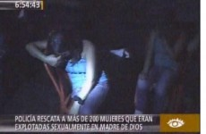 Peru: Police rescue almost 300 women forced into sexual slavery