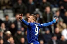 Jamie Vardy equals Ruud van Nistelrooy's Premier League record