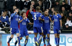 Leicester are top of the Premier League (yes, you read that right)
