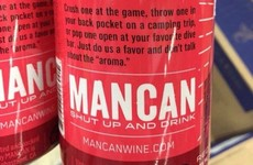 'Wine in a can' for men exists, and no one is particularly impressed