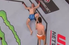 There were some big KO finishes on last night's UFC card