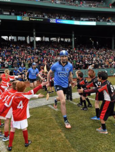 Fenway Park has been transformed as 28,000 fans pack in for Hurling Classic
