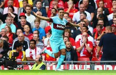 West Ham star Lanzini 'honoured' by Liverpool link after super start to life in England