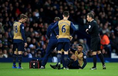 Here's what Arsenal's injury list looks like after Coquelin is ruled out for two months