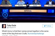 17 of the funniest University Challenge tweets of 2015