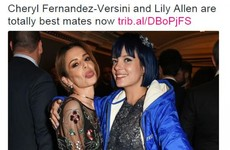 Lily Allen and Cheryl are finally pals after scrapping for NINE YEARS... it's The Dredge
