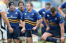 The Leinster front row returned to training a day early to address their scrum capitulation